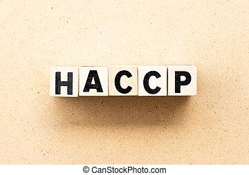points), επικριτικός , γράμμα , haccp, λέξη , διακόπτης , ανάλυση , ξύλο , φόντο , (hazard, εμποδίζω