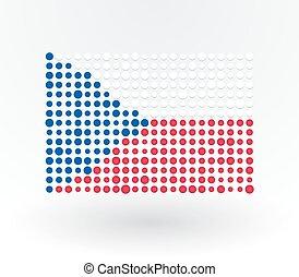 points, drapeau tchèque, réconcilié