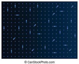 points, fond, résumé, bleu, gradient