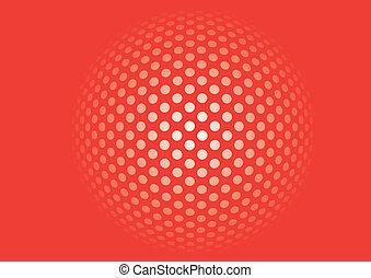points, fond, résumé, mosaïque, pixel