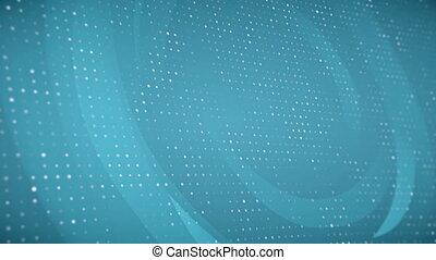 points, résumé, particules, fond, constitué, boucle