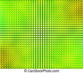 points, résumé vert, mené, fond