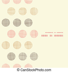 points, vertical, vendange, cadre, polka, seamless, textile,...