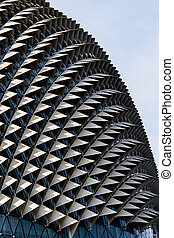 Pointy Building. Architecture, Singapore