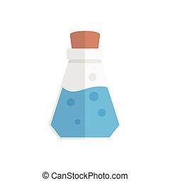 poison  flat color icon