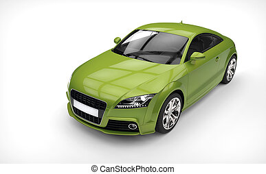 Poison Green Car