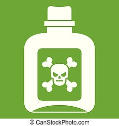Poison icon green
