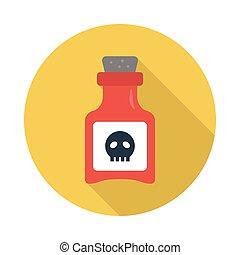 Poison - poison flat icon