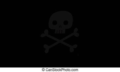 Poison Sign Animation
