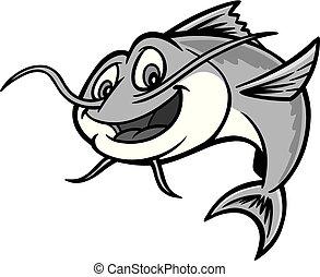 poisson-chat, illustration