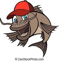 poisson-chat, mascotte