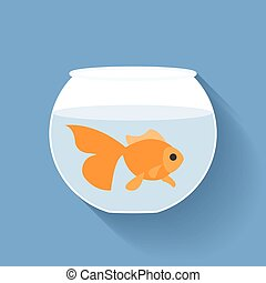 poisson plat, conception, or, bol