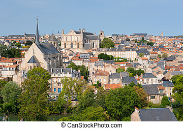 Poitiers in summer