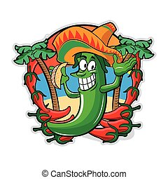 poivre, mexicain, tacos