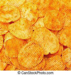 poivre orange, pomme terre