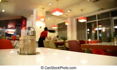 poivre, table, café