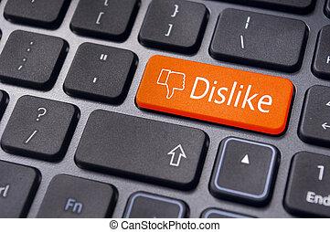 pojęcia, media, aspołeczny, guzik, klawiatura, nie lubić, wiadomość