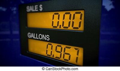 pojęcie, benzyna, wolny
