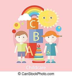pojęcie, childcare