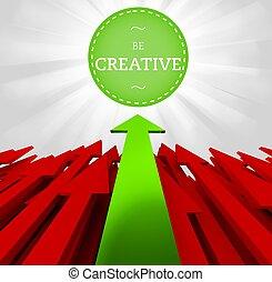 pojęcie, czuć się, indywidualność, twórczy