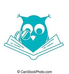 pojęcie, czytanie, kochający