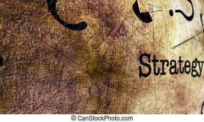 pojęcie, grunge, strategia