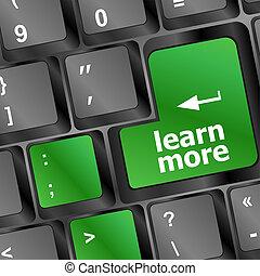 pojęcie, guzik, klawiaturowy komputer, uczyć się, wykształcenie, więcej