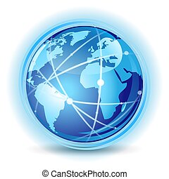 pojęcie, komunikacja, globalny