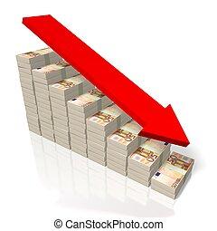 pojęcie, -, kryzys, euro, 50