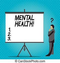 pojęcie, mentalny, tekst, wellbeing, pisanie, psychologiczny, demonstrating., treść, emocjonalny, pismo, warunek, health.