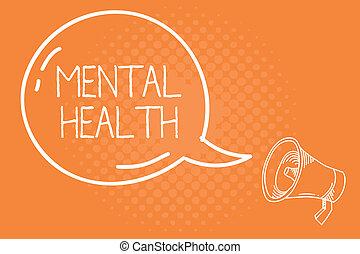 pojęcie, mentalny, tekst, wellbeing, psychologiczny, treść, demonstrowanie, emocjonalny, pismo, warunek, health.