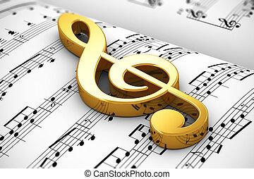 pojęcie, muzyczny