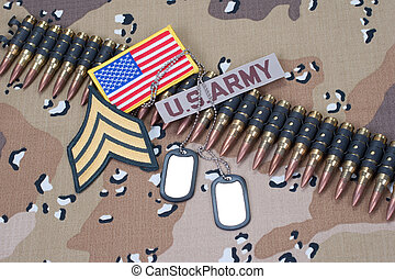 pojęcie, na, jednolity, kamuflaż, armia