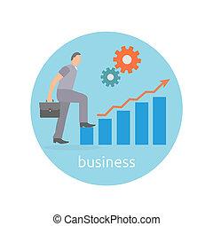 pojęcie, od, powodzenie, i, determinacja, w, handlowy