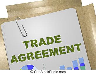 pojęcie, porozumienie, handel