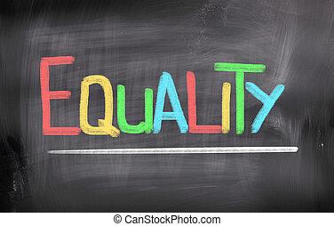 pojęcie, równość