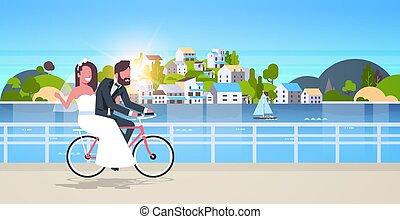 pojęcie, rower, właśnie, pełny, górskie kolarstwo, rower...