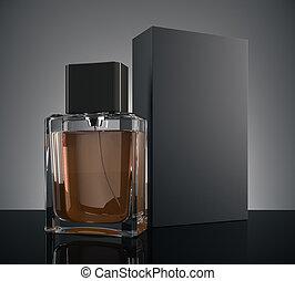 pojęcie, samiec, ad, perfumy