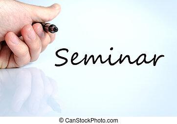pojęcie, seminarium