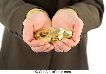 pojęcie, sposobność, handlowy, korzyść, -, oferta