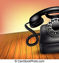 pojęcie, stary telefon