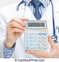 pojęcie, strzał, doktor, kalkulator, -, zdrowie, dzierżawa...