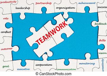pojęcie, teamwork