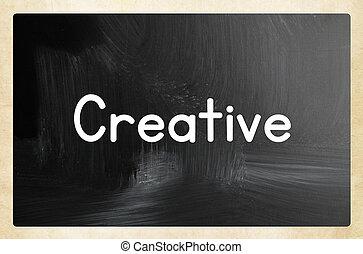 pojęcie, twórczy