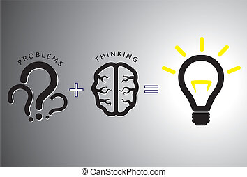 pojem, řešit, -, roztok, ono, mozek, pouití, otázka