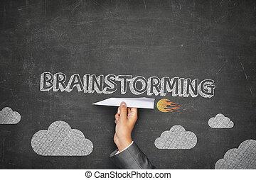 pojem, brainstorming