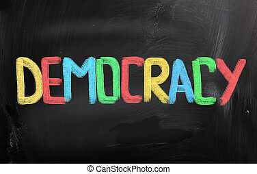 pojem, demokracie