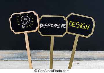pojem, lehký, znak, pojem, design, citlivý, cibulka, poselství