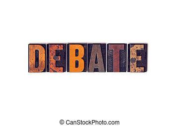 pojem, litera, debatovat, knihtisk, osamocený