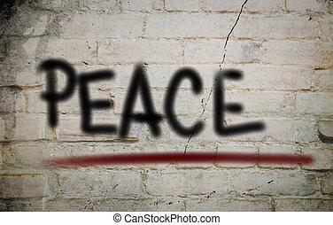 pojem, mír